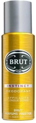 Brut Instinct Deodorant Spray  -  For Men(199 ml)  available at flipkart for Rs.275