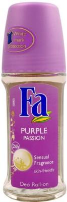 Fa Purple Passion Deodorant Roll-on  -  For Women(49 ml)