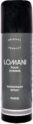 Lomani Pour Homme For Men Deodorant Spray  -  For Men(199 ml)