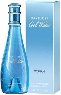 Davidoff Cool Water Deodorant Spray  -  For Women(100 ml)