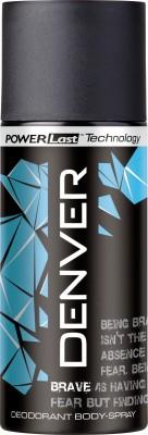 Denver Deo Brave 150 Ml Deodorant Spray  -  For Men(150 ml)  available at flipkart for Rs.175