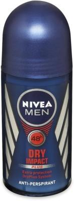 Nivea Dry Impact Plus Anti Perspirant (Imported) Deodorant Roll-on  -  For Men(50 ml)
