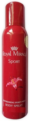 Royal Mirage Sport Deodorant Body Spray  -  For Men & Women(200 ml) Flipkart