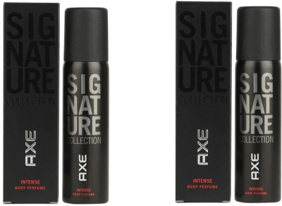 AXE Signature Intense Combo Deodorant Spray  -  For Men(244 ml, Pack of 2)