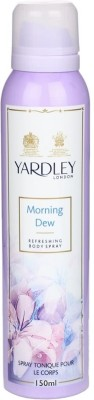 Yardley London Referishing Morning Dew Women Body Spray 150 ml