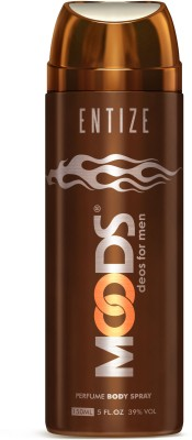 Moods Entize Deodorant Spray  -  For Men(150 ml)