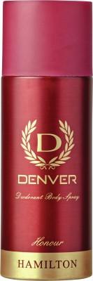 Denver Deo Honour 165 Ml Deodorant Spray  -  For Men(165 ml)  available at flipkart for Rs.189