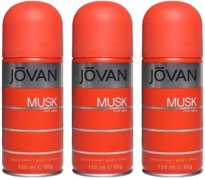 Jovan musk Body Spray  -  For Men(450 ml)