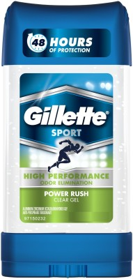 Gillette Sport Power Rush Clear Gel Deo Stick (Pack of 2) Deodorant Stick  -  For Men(212 g, Pack of 2)