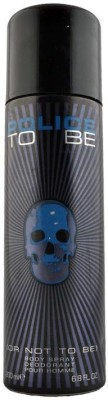 Police To Be Men Deodorant Spray  -  For Men(200 ml) at flipkart