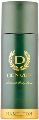 Denver Hamilton Deodorant Spray  -  For Men(165 ml)