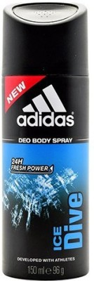 ADIDAS Ice Dive Deodorant Spray  -  For Men(150 ml)
