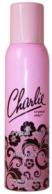 Revlon Crystal Chic Deodorant Spray for Women 150 ml