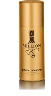 Paco Rabanne 1 Million Deodorant Spray  -  For Men(150 ml)  available at flipkart for Rs.1999