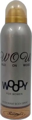 Rasasi Woody Deodorant Spray  -  For Women(200 ml)  available at flipkart for Rs.250