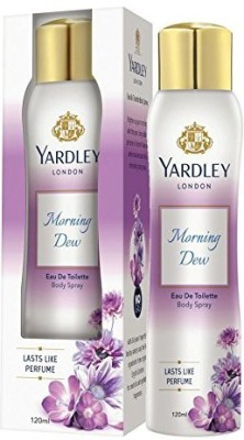 Yardley London NA Perfume Body Spray  -  For Women(120 ml) at flipkart