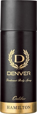 Denver Hamilton Caliber Body Deodorant Spray For Men 165 ml
