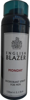 English Blazer Monday Deodorant Spray  -  For Men(150 ml) at flipkart