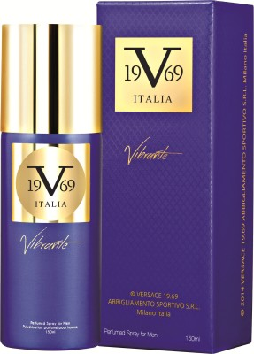 V 19.69 Italia Vibrante Deodorant Spray  -  For Men(150 ml) at flipkart
