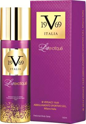 V 19.69 Italia La Exotique Deodorant Spray  -  For Women(150 ml)
