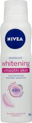 Nivea Whitening Smooth Skin Deodorant Spray  -  For Women(150 ml)