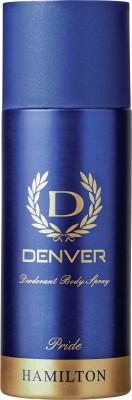 Denver Deo Pride 165 Ml Deodorant Spray  -  For Men(165 ml)  available at flipkart for Rs.199