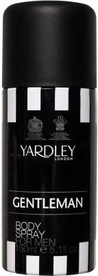 Yardley London Gentleman Deodorant Spray  -  For Men  available at flipkart for Rs.185