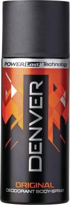 Denver Deo Original 150 Ml Deodorant Spray  -  For Men(150 ml)  available at flipkart for Rs.185