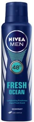 Nivea Men Fresh Ocean 48h Deodorant Spray  -  For Men(150 g)
