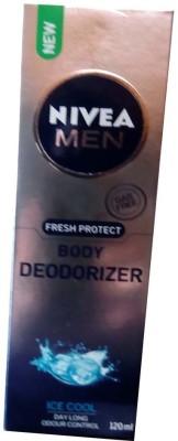 Nivea Ice Cool Body Spray  -  For Men(120 ml)