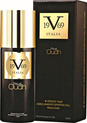 V 19.69 Italia Prive Oudh Deodorant Spray  -  For Men(150 ml)