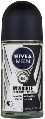 Nivea Invisible for Black and white Deodorant Roll-on  -  For Men(50 ml)
