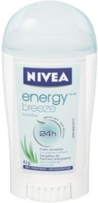 Nivea Energy Fresh 48h Protection Deodorant Stick  -  For Women(40 ml)