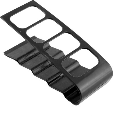 Divinext E-132 4 Compartments Metal Remote Stand(Black)  available at flipkart for Rs.204