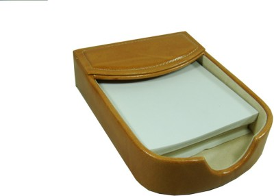 Panku 2 Compartments wooden Desk organizer(Brown)