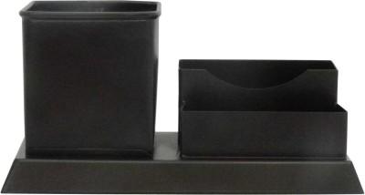 Gaarv 3 Compartments Mild Steel Office Utiltiy(Brown)