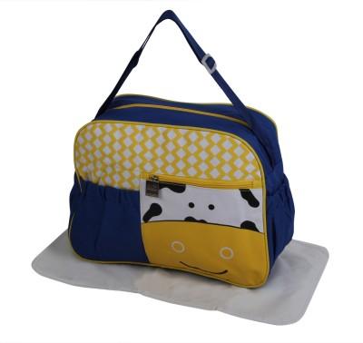 Offspring Outing Mama Shoulder Messenger Diaper Bag(Blue, Yellow, Black, White)