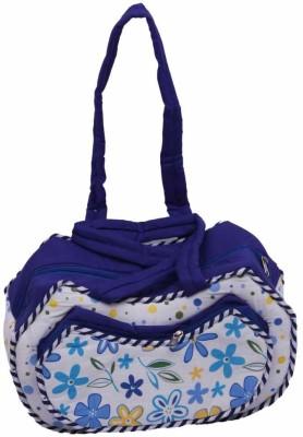 Kuber Industries Baby Messenger Diaper Bag Blue Kuber Industries Diaper Bags