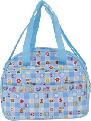 Littly Multipurpose Waterproof Mother Bag Medium  Blue Littly Diaper Bags