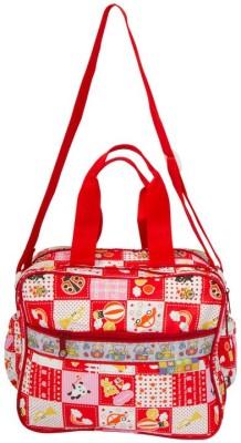 MeeMee Multi Functional Nursery Bag Red MeeMee Diaper Bags
