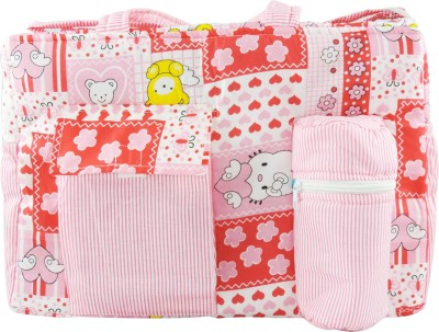 OLE BABY Big Multi Utility Joyful Print Tote Diaper Bag Multicolor OLE BABY Diaper Bags