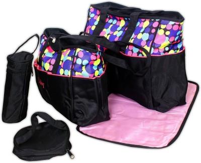 Baby Bucket 5pcs set Mother Diaper Beg Pink Baby Bucket Diaper Bags