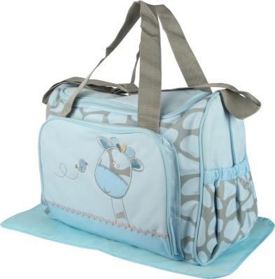 Offspring Outing Mama Shoulder Diaper Bag Shoulder Diaper Bag(Blue, Grey)