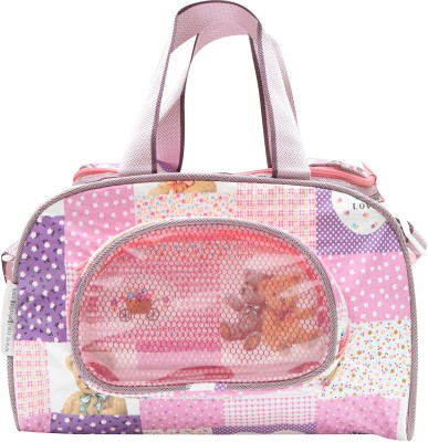 68% OFF on Bazaar Pirates Teddy Bear Print Mother s Diaper Cum Utility Bag(Purple)  on Flipkart  2d5c7b4a310fc