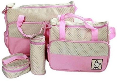 Baby Bucket Maternity Handbag Diaper Bag   Pink