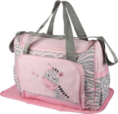 Offspring Outing Mama Shoulder Diaper Bag Shoulder Diaper Bag(Pink, Grey)
