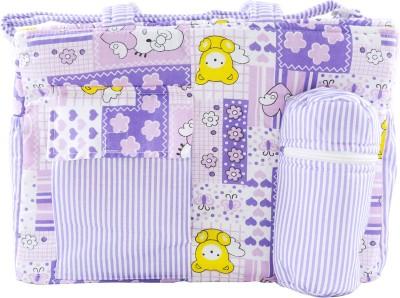 OLE BABY Big Multi Utility Little Hearts Cute Print Tote Diaper Bag Multicolor OLE BABY Diaper Bags