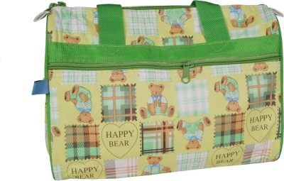 Hanu Enterprises GREEN180 Messenger Diaper Bag Green Hanu Enterprises Diaper Bags
