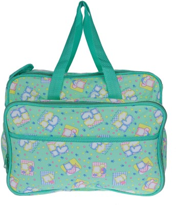 JG Shoppe Twigs04 Tote Diaper Bags(Green) at flipkart