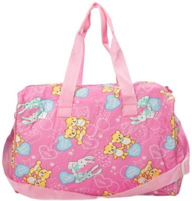 MeeMee Multi Functional Nursery Bag Pink MeeMee Diaper Bags